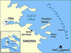 Mappa Tavolara