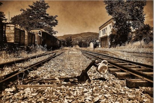 Cimitero dei treni